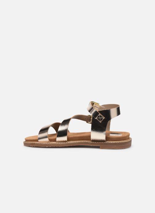 Sandali e scarpe aperte L'Atelier Tropézien MG6011 Oro e bronzo immagine frontale