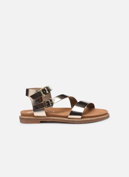 Sandali e scarpe aperte L'Atelier Tropézien MG6011 Oro e bronzo immagine posteriore