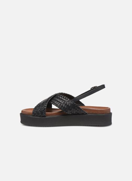 Sandalen L'Atelier Tropézien CHV269 Zwart voorkant