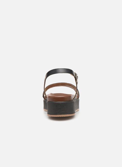 Sandalen L'Atelier Tropézien CHV6028 Zwart rechts