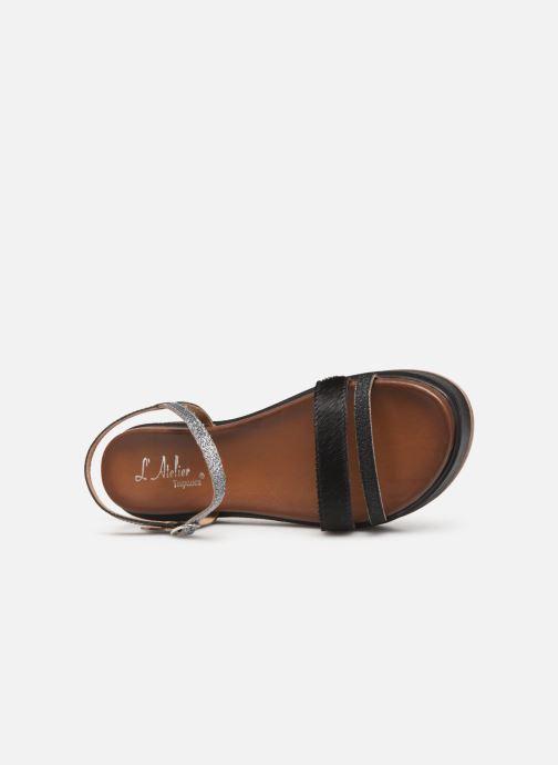 Pewter Tropézien pieds Chv6028 L'atelier Et Sandales Nu Black OPuTXZkiw