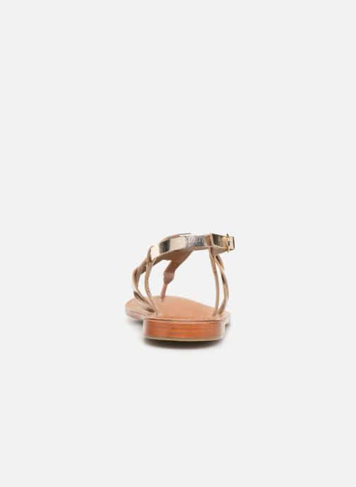 Sandali e scarpe aperte L'Atelier Tropézien SH666 Oro e bronzo immagine destra