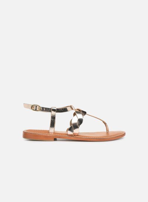 Sandales et nu-pieds L'Atelier Tropézien SH666 Or et bronze vue derrière