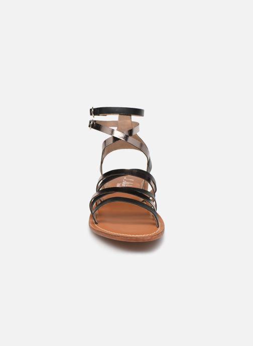 Sandali e scarpe aperte L'Atelier Tropézien SH09 Nero modello indossato