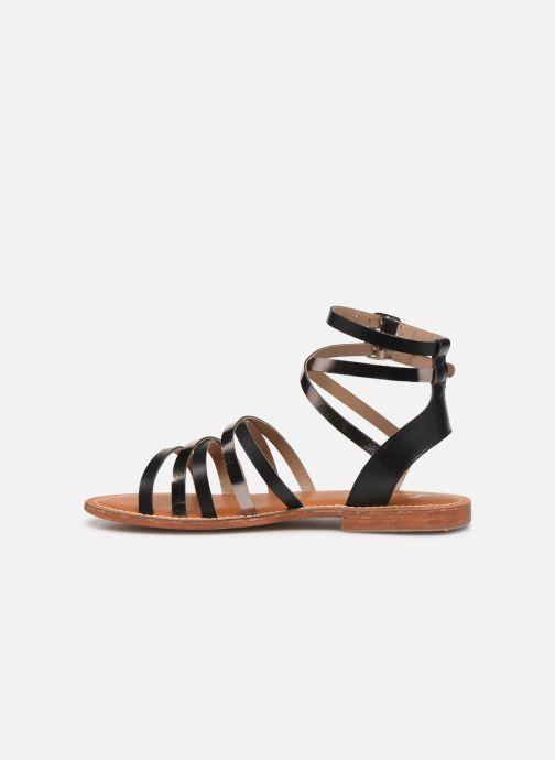 Sandali e scarpe aperte L'Atelier Tropézien SH09 Nero immagine frontale