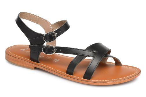Sandales et nu-pieds L'Atelier Tropézien SH09 Argent vue 3/4