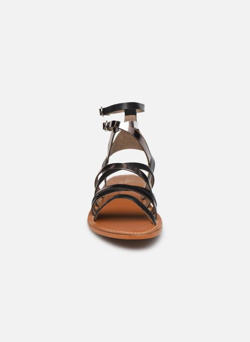 Sandales et nu-pieds L'Atelier Tropézien SH09 Argent vue portées chaussures
