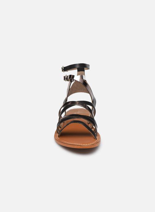 Sandali e scarpe aperte L'Atelier Tropézien SH09 Argento modello indossato