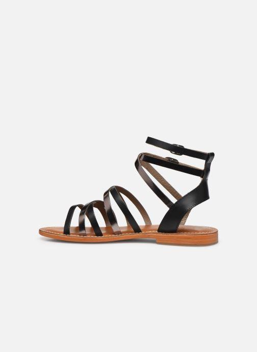 Sandales et nu-pieds L'Atelier Tropézien SH09 Argent vue face