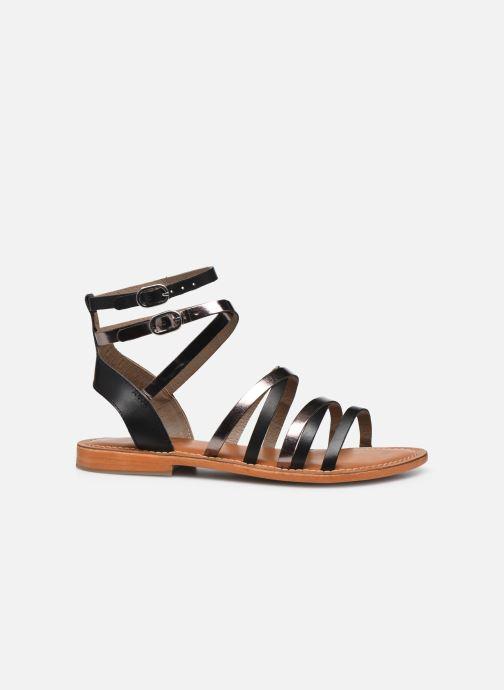 Sandales et nu-pieds L'Atelier Tropézien SH09 Argent vue derrière