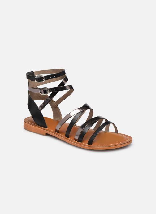 Sandales et nu-pieds L'Atelier Tropézien SH09 Argent vue détail/paire