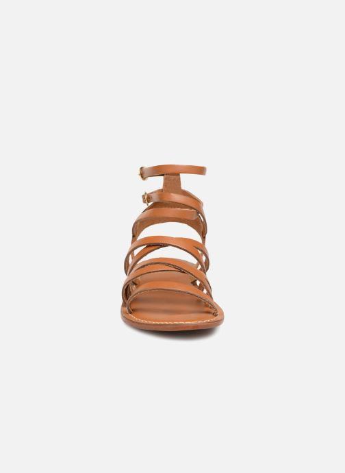 Sandales et nu-pieds L'Atelier Tropézien SH09 Marron vue portées chaussures