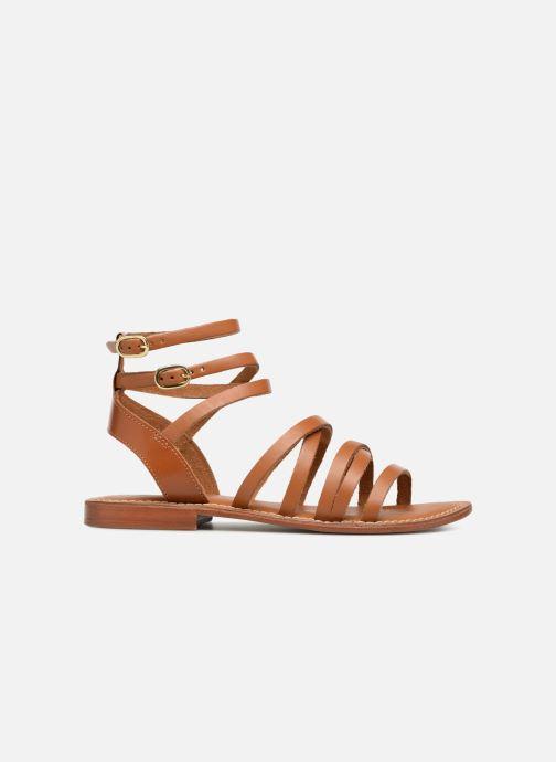 Sandales et nu-pieds L'Atelier Tropézien SH09 Marron vue derrière