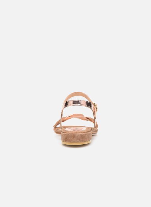 Sandali e scarpe aperte L'Atelier Tropézien SH669 Marrone immagine destra