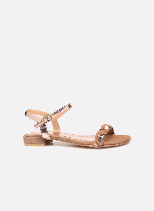 Sandali e scarpe aperte L'Atelier Tropézien SH669 Marrone immagine posteriore