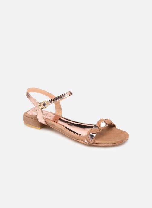 Sandali e scarpe aperte L'Atelier Tropézien SH669 Marrone vedi dettaglio/paio
