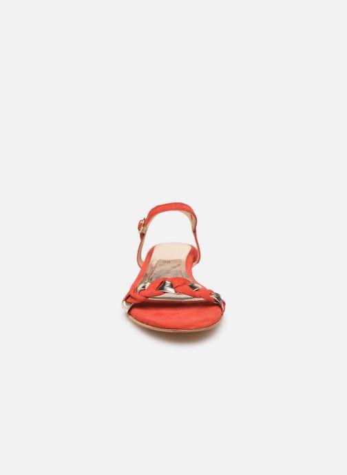 Sandales et nu-pieds L'Atelier Tropézien SH669 Rouge vue portées chaussures