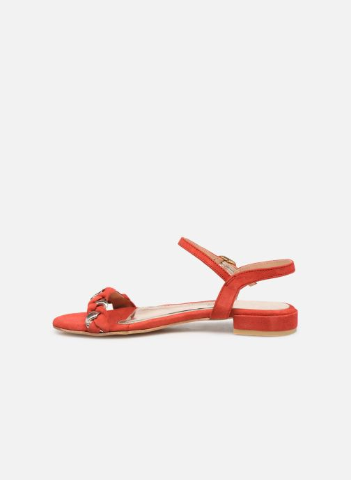 Sandali e scarpe aperte L'Atelier Tropézien SH669 Rosso immagine frontale
