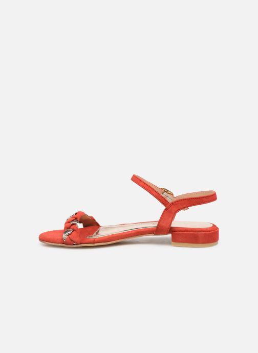 Sandales et nu-pieds L'Atelier Tropézien SH669 Rouge vue face