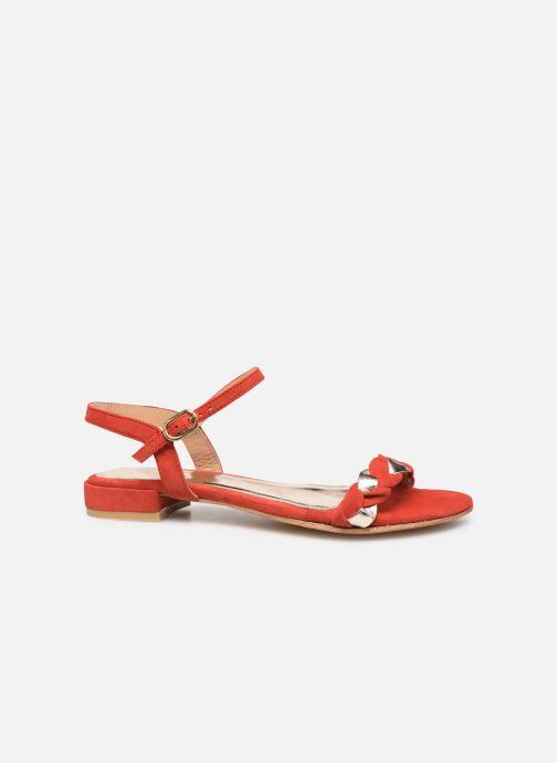 Sandales et nu-pieds L'Atelier Tropézien SH669 Rouge vue derrière