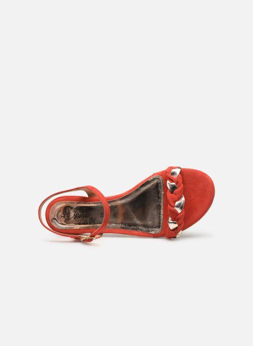 Sandali e scarpe aperte L'Atelier Tropézien SH669 Rosso immagine sinistra