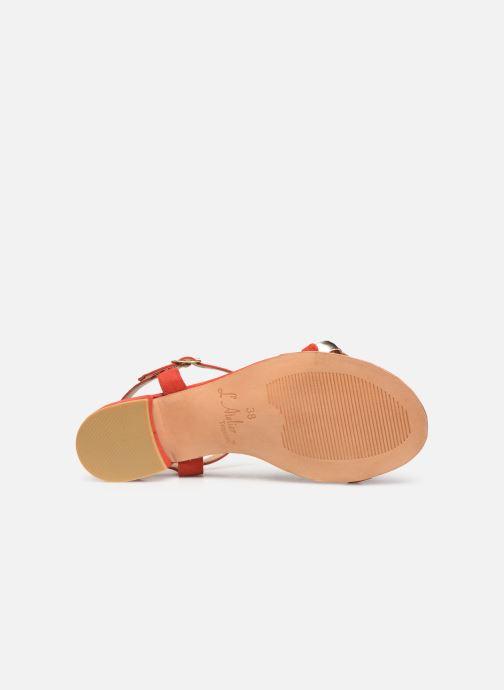 Sandali e scarpe aperte L'Atelier Tropézien SH669 Rosso immagine dall'alto