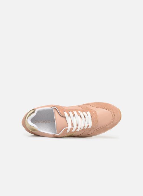 Sneakers Georgia Rose Sahman Rosa immagine sinistra
