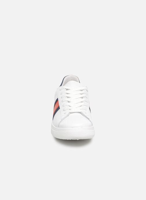 Baskets Georgia Rose Syklopa Blanc vue portées chaussures