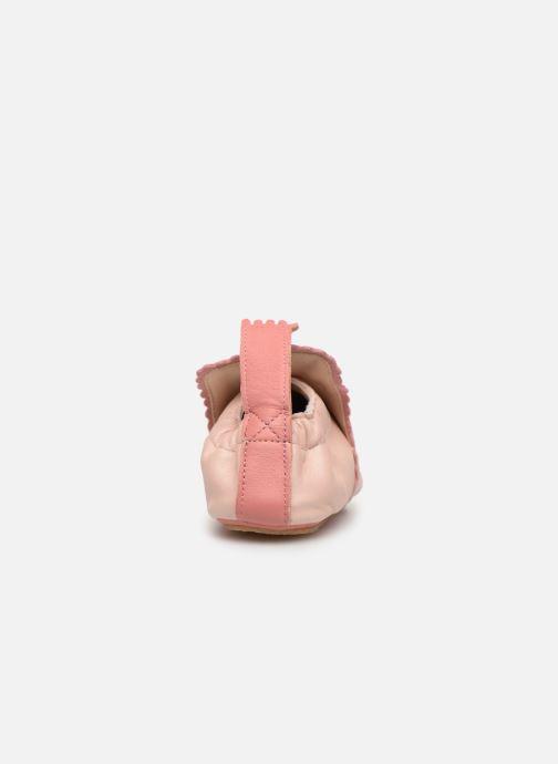Pantoffels Easy Peasy Croqblu Roze rechts