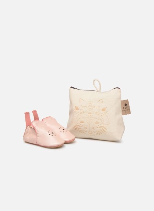 Slippers Easy Peasy Croqblu Pink detailed view/ Pair view