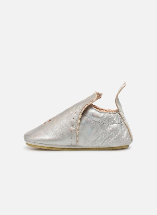 Chaussons Easy Peasy Croqblu Argent vue face