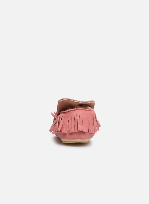 Chaussons Easy Peasy Mexiblu Rose vue droite
