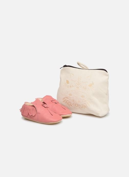 Chaussons Easy Peasy Mexiblu Rose vue détail/paire