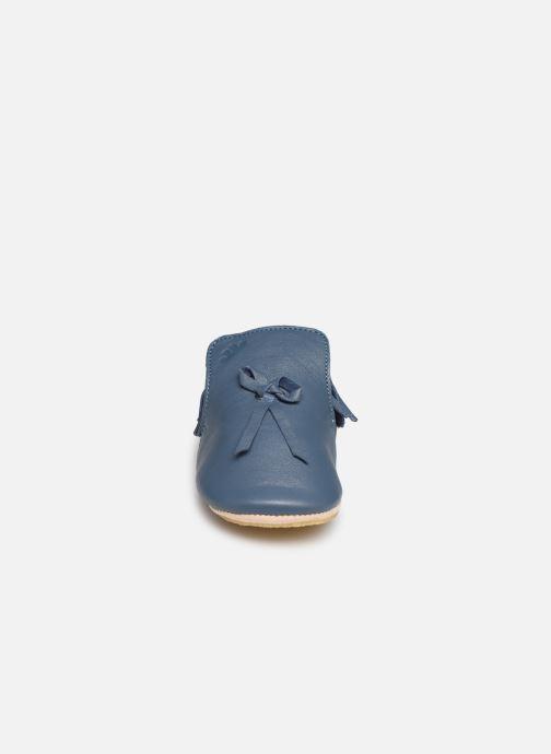 Pantofole Easy Peasy Mexiblu Azzurro modello indossato