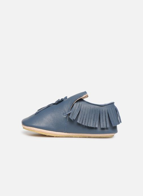 Chaussons Easy Peasy Mexiblu Bleu vue face