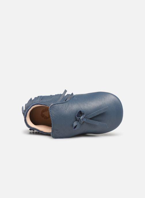 Chaussons Easy Peasy Mexiblu Bleu vue gauche