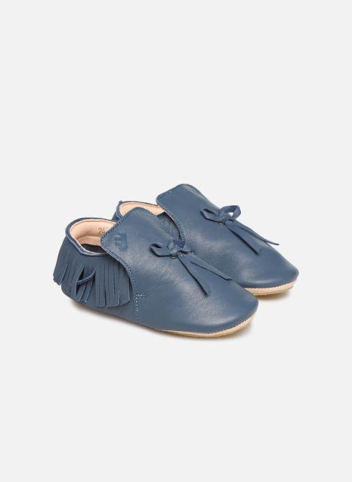 Chaussons Easy Peasy Mexiblu Bleu vue détail/paire
