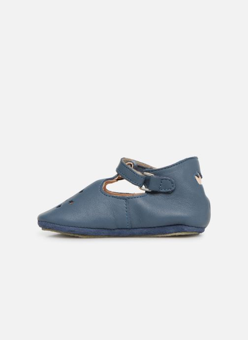 Chaussons Easy Peasy Lillop Bleu vue face
