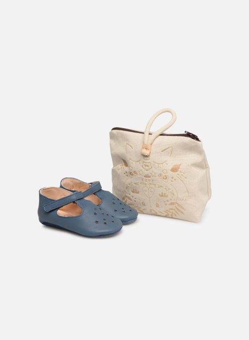 Slippers Easy Peasy Lillop Blue detailed view/ Pair view