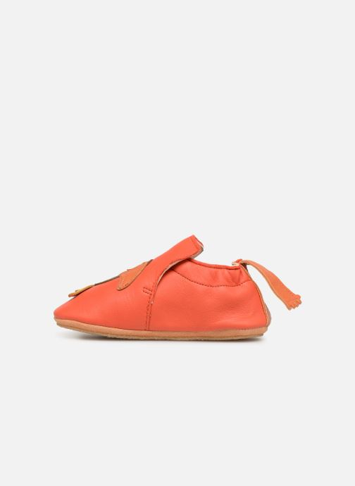 Chaussons Easy Peasy Blublu Toocan Rouge vue face