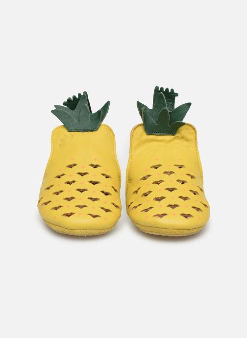 Pantoffels Easy Peasy Blublu Ananas Geel model