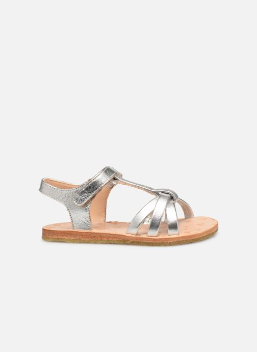 Sandals Easy Peasy Lulu Silver back view