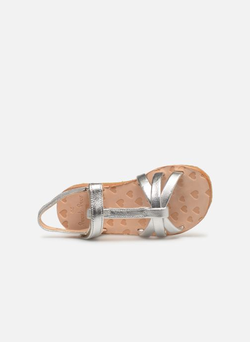 Sandals Easy Peasy Lulu Silver view from the left