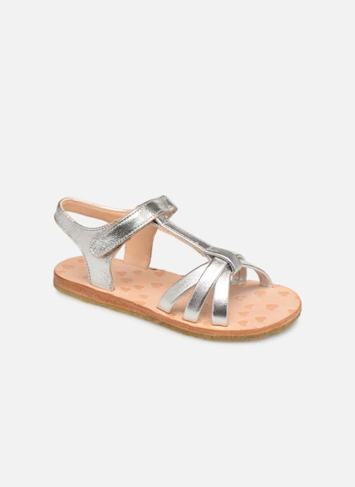 Sandals Easy Peasy Lulu Silver detailed view/ Pair view