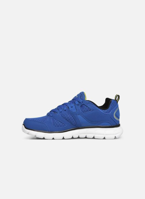 Baskets Skechers Vim/Turbo Ride Bleu vue face