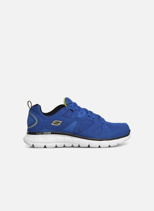 Baskets Skechers Vim/Turbo Ride Bleu vue derrière