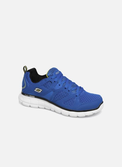 Baskets Skechers Vim/Turbo Ride Bleu vue détail/paire
