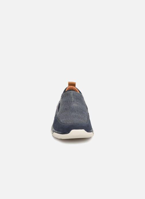 Sneakers Skechers Edmen Bronte Blå bild av skorna på