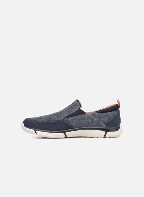 Sneakers Skechers Edmen Bronte Blå bild från framsidan