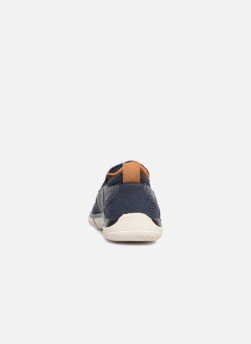 Sneakers Skechers Edmen Bronte Blå Bild från höger sidan